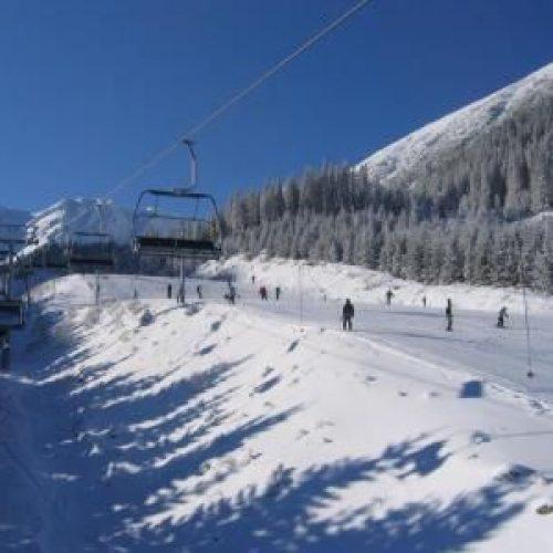 SkiPark Zverovka – Spálená dolina